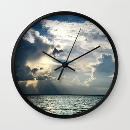 Coconut Grove Sailing Day Wall Clock