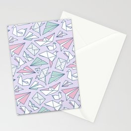 Origami soup Stationery Cards