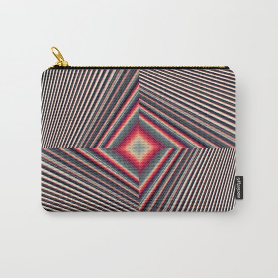 Geometric RH Carry-All Pouch