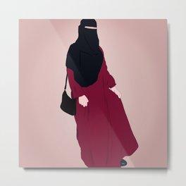 Hijabi - Burqa - Niqab Metal Print