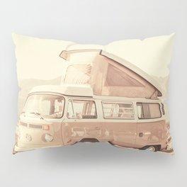 Vintage Van (Color) Pillow Sham