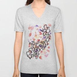 Scandi Micron Art Design   170808 Micron Watercolour 8 Unisex V-Neck