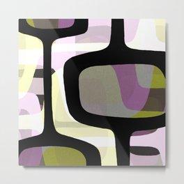 Mid Century Abstract 1 Metal Print