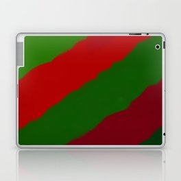 Red and Green Christmas Gift Laptop & iPad Skin