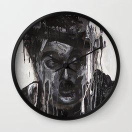 Portrait of Charles Chaplin Wall Clock