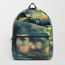 Chained War Bird Backpack