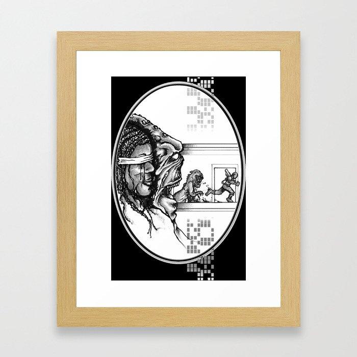 For Zanna - Illustration Framed Art Print