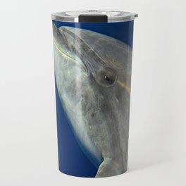 Bottlenose dolphin portrait Travel Mug