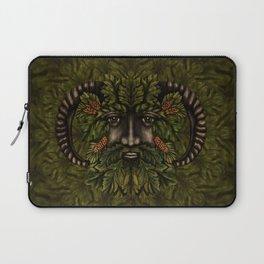 The Green Man Laptop Sleeve