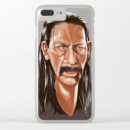 Danny trejo Clear iPhone Case