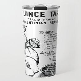 Quince Tart Travel Mug