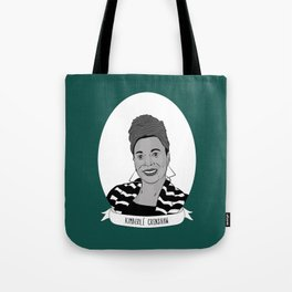 Kimberlé Crenshaw Illustrated Portrait Tote Bag