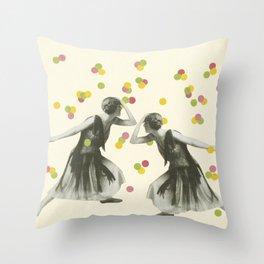 Dance : Gemini Throw Pillow