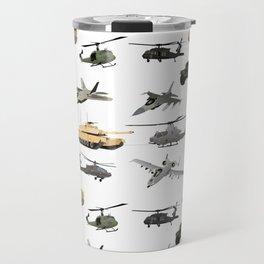 American Military Pattern Travel Mug
