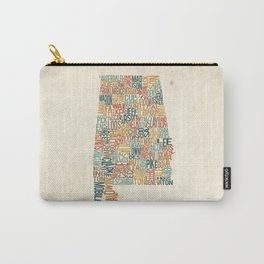 Alabama by County Carry-All Pouch