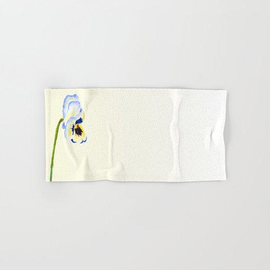 one  pansy Hand & Bath Towel