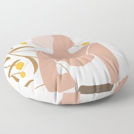 Soft Summer Breeze Floor Pillow