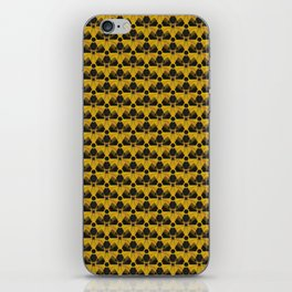Nuclear Yellow & Black Nuke Sign iPhone Skin