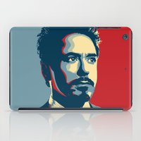 stark iPad Cases featuring Tony Stark by Cadies Graphic