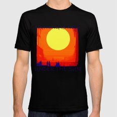 Nothing is new under the sun Black Mens Fitted Tee X-LARGE