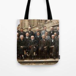 Solvay Conference Tote Bag