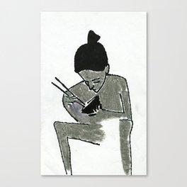 eating Canvas Print