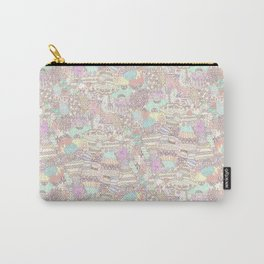 The Sweet Forest Pattern Carry-All Pouch