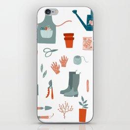 Gardening Things iPhone Skin