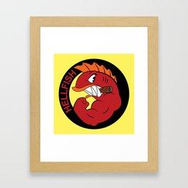 Join the hellfish Framed Art Print