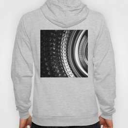 Shimmering textures of laundry machine drum -- Everyday art Hoody