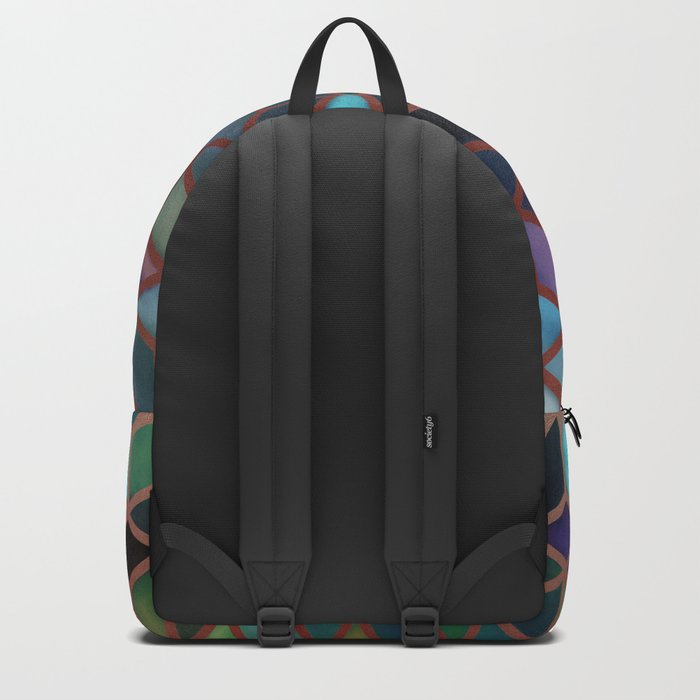 Pastel Boxes Rose Gold Backpack