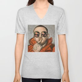 Remember Mac Miller Unisex V-Neck