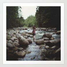 Lynn Valley Art Print