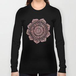 Blush Lace Long Sleeve T-shirt