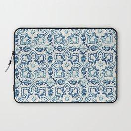 Azulejo IV - Portuguese hand painted tiles Laptop Sleeve