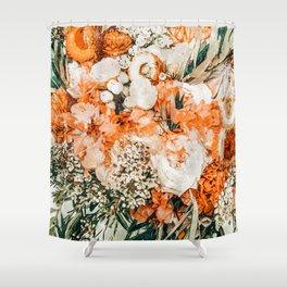 Celeste #vintage #painting Shower Curtain