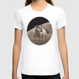 The sheep of mare crisium T-shirt