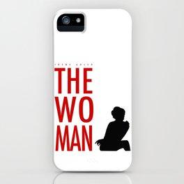 Irene Adler, The Woman - Sherlock Holmes iPhone Case
