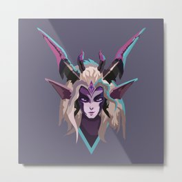 Dragon Sorceress Zyra Metal Print