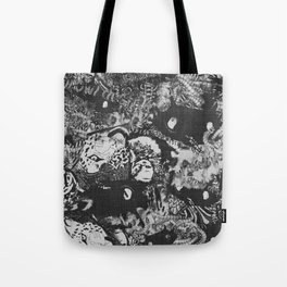 growl destruction 002 Tote Bag