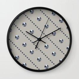"Illustration .   "" Diamonds"" . Wall Clock"