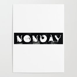 Non Day Cat Poster