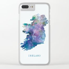 Ireland Clear iPhone Case