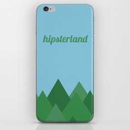 Hipsterland iPhone Skin