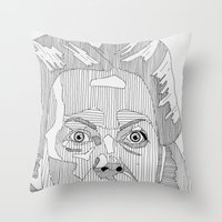 nurse Throw Pillows featuring Nurse Ratched. by Bundles of Film