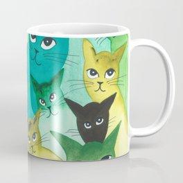 Kiowa Whimsical Cats Coffee Mug