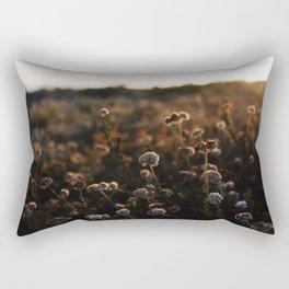 Sunset Florals Rectangular Pillow