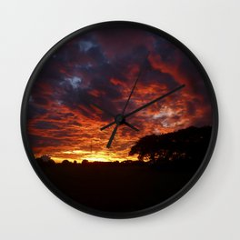 Sunset #2 Wall Clock