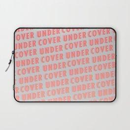 Undercover - Typography Laptop Sleeve