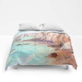 Cliffs at Normandie WC160404c-11 Comforters